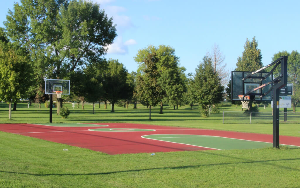 Park Improvement - Basketball court